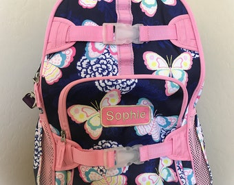 Butterfly Rolling Backpack Bag Pottery Barn
