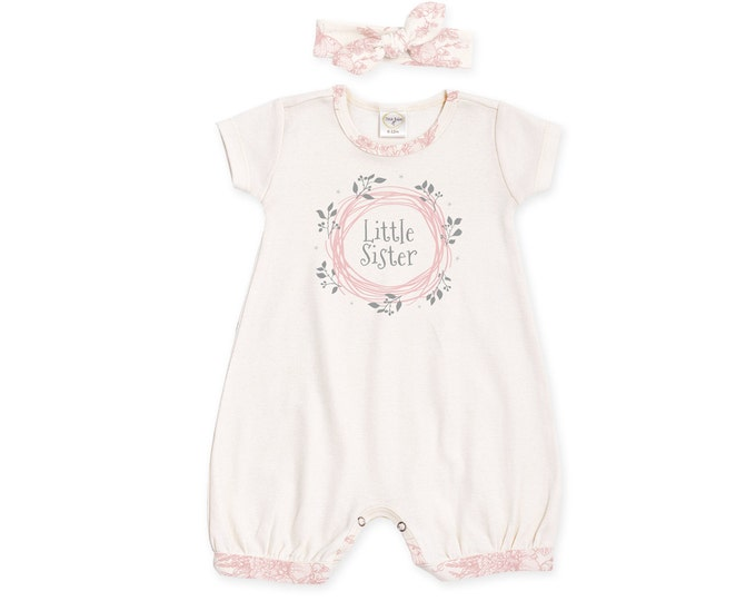 Newborn Girl Coming Home Outfit, Newborn Girl Outfit, Newborn Girl Romper, Little Sister Outfit, Baby Bubble Romper, TesaBabe RH520IYBG001C