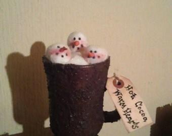 Grubby Hot cocoa mug