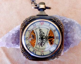 Victorian Pocket Watch - Brass