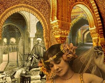 Limited edition digital print - Arabesque Magic #4