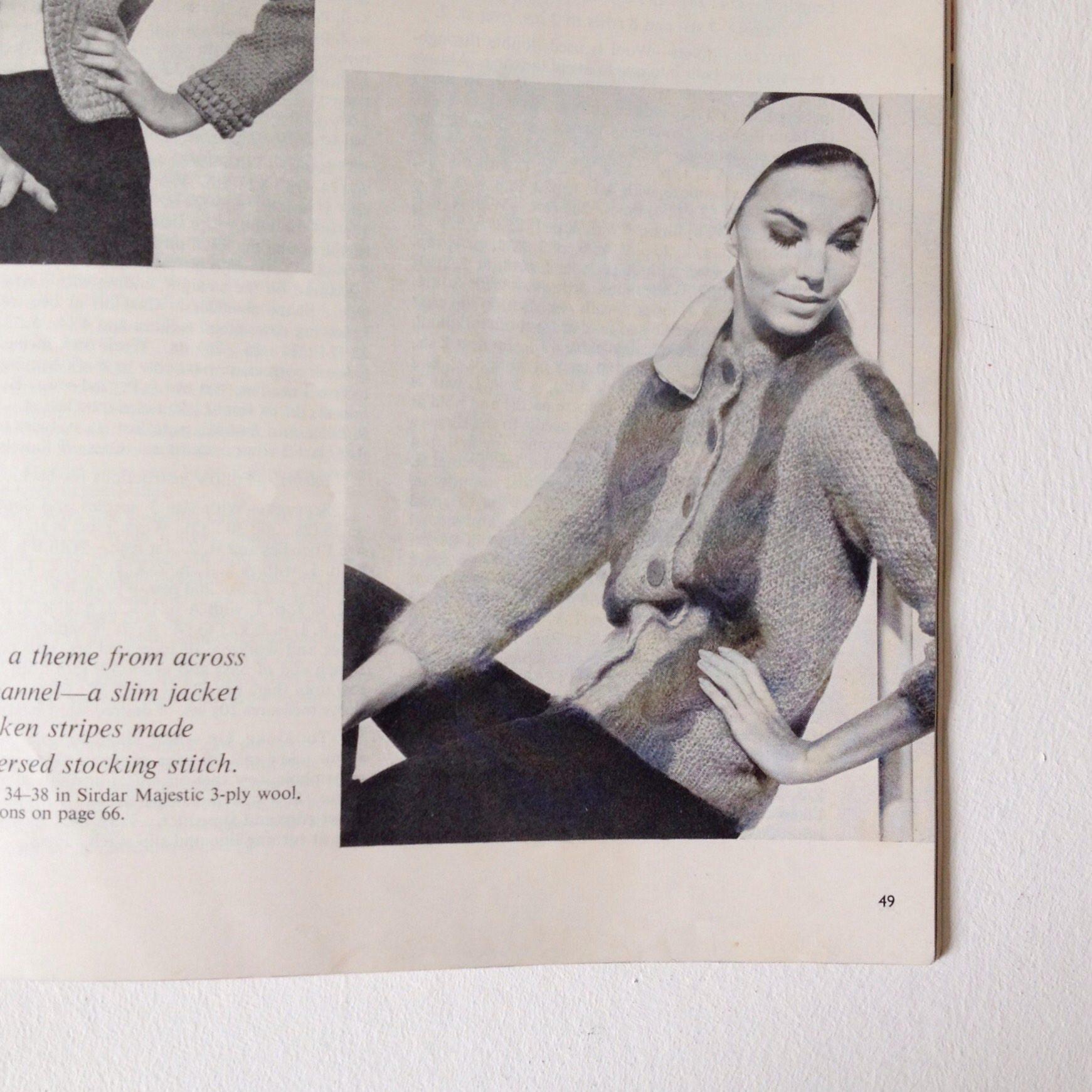 Vogue knitting 1961 stylish vintage knitting patterns vintage vogue knitting 1961 stylish vintage knitting patterns vintage vogue knitting magazine number 59 bankloansurffo Choice Image