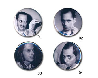 John Waters Buttons 80s Pin Badges 25mm 1 inch Badge Button Punk