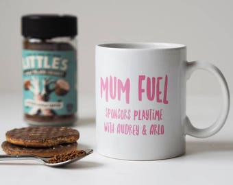 Mum Fuel Personalised Mug - Mug for Mum - Mother's Day Gift - Personalised Mug