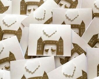 Wedding card / invitation / thank you