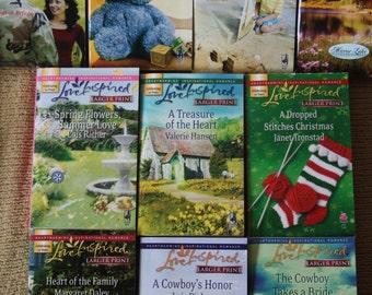 10 Love Inspired books / love inspired novels / lot 3
