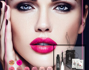 LIP INK®  World's Only 100% Smearproof Liquid Lip Stain Trial Kit - Pinks