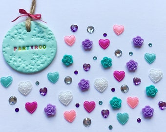 Hearts and Roses Embellishment Set Pack