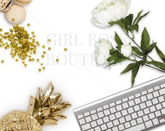 Styled Stock Photography. Modern Styled Photography. Product Background. Flower Mockup. Feminine Mockup. Office styled photo.
