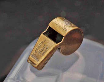 Old Vintage Brass Acme Whistle (loud)