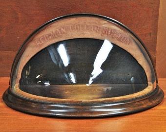 Victorian Collar Display Case Bow Tie Bespoke Mercantile Bubble Glass