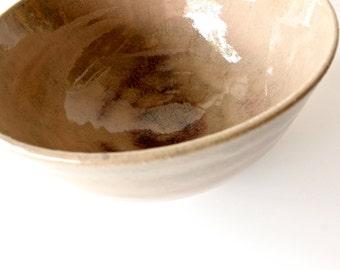 Handmade Ceramic Bowl, Serving Bowl ,Salad Bowl, Stoneware,Ceramic and pottery