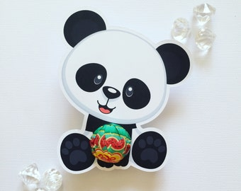 Panda lollipop holders