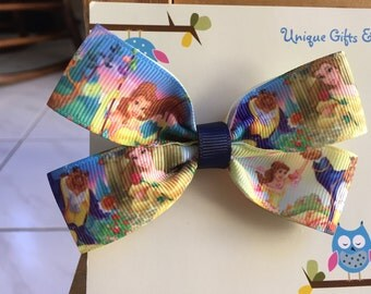 Disney Beauty and the Beast (Princess Belle) Hair Bow