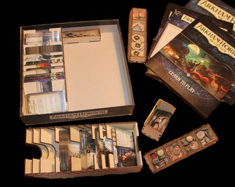 New!  Arkham Horror - The Card Game Organiser Insert - DIY flatpack, precision laser cut, game storage
