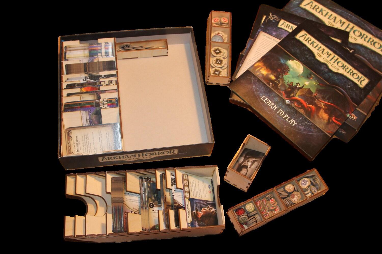 New Arkham Horror The Card Game Organiser Insert Diy