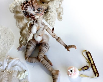 Porcelain Doll, Porcelain Bjd, Custom Bjd, Ooak Doll, Blythe, Bjd Doll, blythe Doll, Art Doll, Ceramic Doll, Collectible Doll,