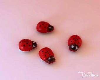 Miniature Ladybug (pack 3 units)
