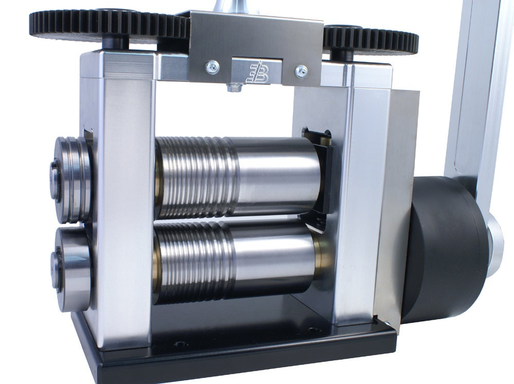 Cavallin Rolling Mill 130 Mm Combo With Reduction Box From