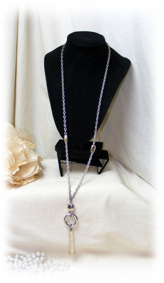 LONG NECKLACE & PENDANT
