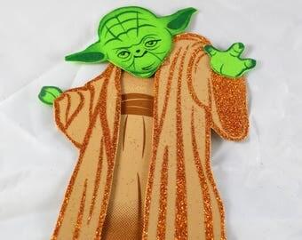 Yoda from star wars decoration