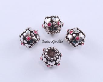 Choose 1, 3 or 5 European style charm beads tibetan silver!