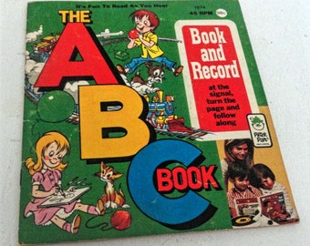 The ABC Book - Book and Record by Peter Pan Records