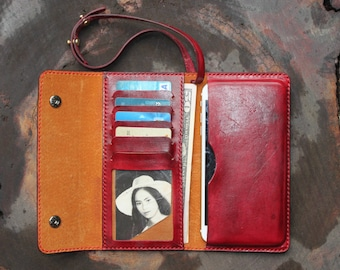 iphone 7 plus  sleeve, iphone 6 plus wallet, iphone 6 plus  wallet case, iphone 7 plus leather sleeve, iphone 7 plus leather case / DT 16