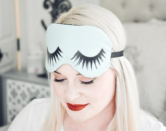 E6 Eyelash Eye Mask Eyelash Sleep Mask Eyelashes Eye Mask Eyelashes Travel Eye Mask Vacation Vacay Honeymoon Jet Setter