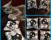 Catnip Pillow Toy, Black Cat Catnip Toy, Hello Kitty Chococat Cat Toy, Catnip Pillow Toy, Black Cat Cat Toy, Chococat Catnip Toy, cat lover