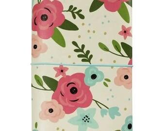 Cream Blossom Traveler's Notebook - Simple Stories