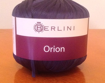 Set of 2 Balls - Navy Blue Ribbon Yarn