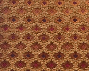 Orange Moroccan - Upholstery Fabric by the Yard