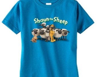 Shaun the Sheep custom t-shirt (Different Colors)