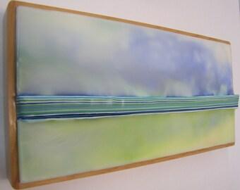 Encaustic Painting Stratum 80