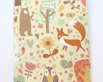 Kawaii Woodland animals letter writing set