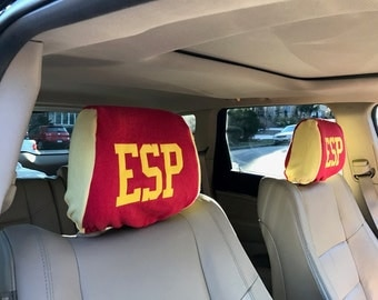 Sweatcovers Automotive Headrest Covers for International Fans