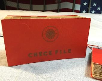 Check File Holder Mid-Century