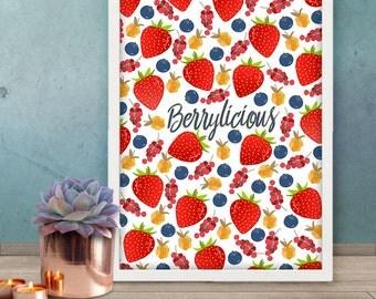 PRINT - Berrylicious