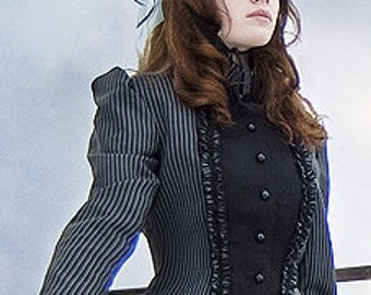 Small Victorian Fitted Jacket - Ready To Ship