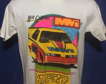 Vintage 1980s motorsports marketing racing t shirt *XS/S