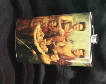 Ghostbusters Painting - MASSIVELY HUGE Incredible 64 oz stainless steel drinking flask