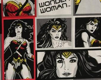 DC Comics Wonder Woman Fabric BTY