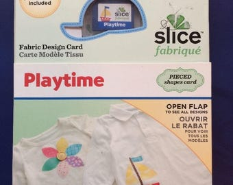 Slice Fabrique Playtime #36863 Fabric Design SD Card NEW In Factory Package