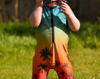 MBJM Sunshine Swim Romper (Prem./Small Newborn - Age 8)