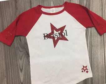 Personalized star shirt