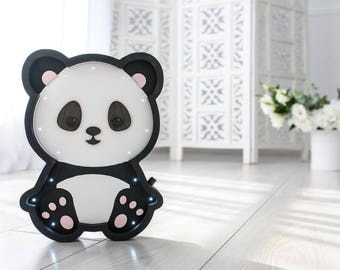 Baby panda bear etsy for Panda bear decor