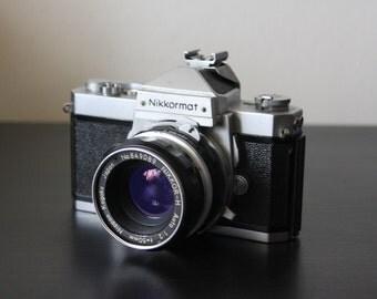 Nikkormat FT Film Camera w/ Nikkor 50mm f2 Lens by Nikon