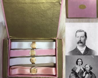 Boxed Cashs silk Ribbons