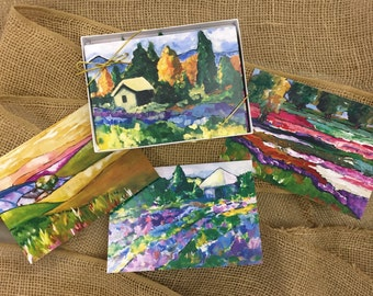 Provence Blank Notecards